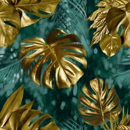 Ręcznik z motywem wielkanocnym  50x100 cm kolor zielony / limonka