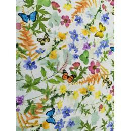 Zasłony w Kwiaty i Liście 140x250 cm 390415_101