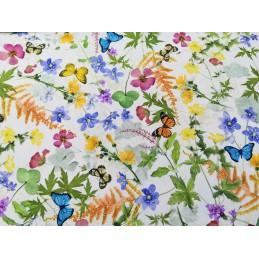 Piękna wiosenna tkanina...