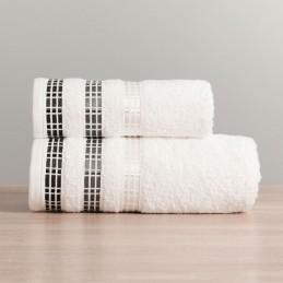 Ręcznik LUXURY 102 biały z...