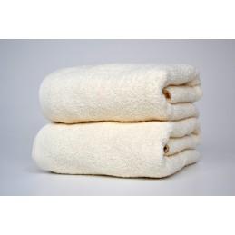 Ręcznik kąpielowy Kremowy...