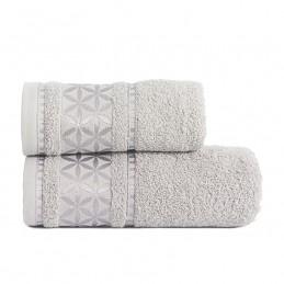 PAOLA Ręcznik, 70x140cm, kolor 712 srebrny PAOLA0/RB0/712/070140/1