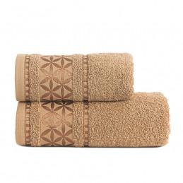 PAOLA Ręcznik, 50x90cm, kolor 008 karmelowy PAOLA0/RB0/008/050090/1