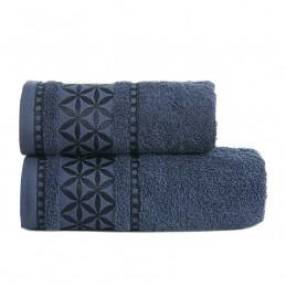 PAOLA Ręcznik, 50x90cm, kolor 038 granatowy PAOLA0/RB0/038/050090/1