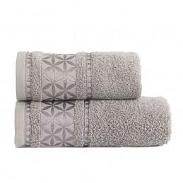 PAOLA Ręcznik, 50x90cm, kolor 328 szary PAOLA0/RB0/328/050090/1