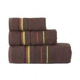 MARS Ręcznik z zawieszką, 30x50cm, kolor 243 brązowy MARS00/RB0/243/030050/1