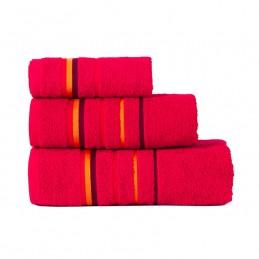 MARS Ręcznik z zawieszką, 30x50cm, kolor 291 czerwony MARS00/RB0/291/030050/1