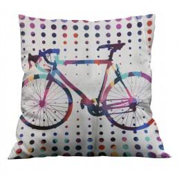 Poszewka dekoracyjna rower...