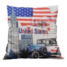 Poszewka dekoracyjna USA...