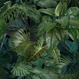 Tkanina w Liście Dżungla...