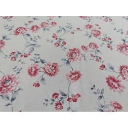 Tkanina materiał w kwiaty...
