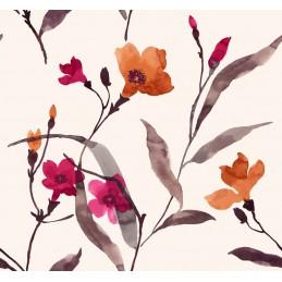 Tkanina kwiaty  kwiaty...