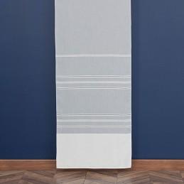 MIRIAM Firanka pasowa z ołowianką, 160cm, kolor biały 001 169003/OLO/001/160000/1