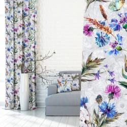Modne zasłony w kwiaty  140x250 cm 390078-101